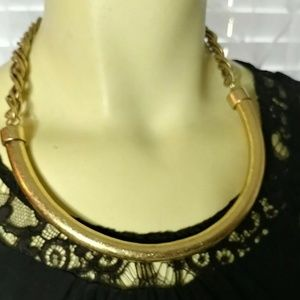 PANACEA Brass Collar Necklace